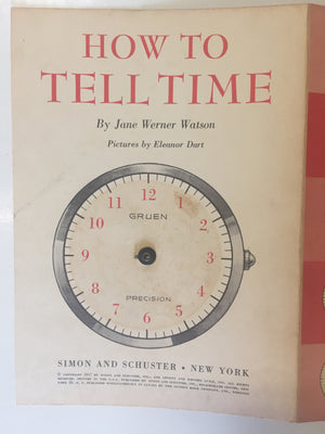How To Tell Time - Slickcatbooks