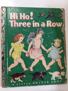 Hi Ho! Three in a Row - Slickcatbooks