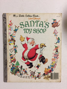 Walt Disney's Santa's Toy Shop - Slick Cat Books