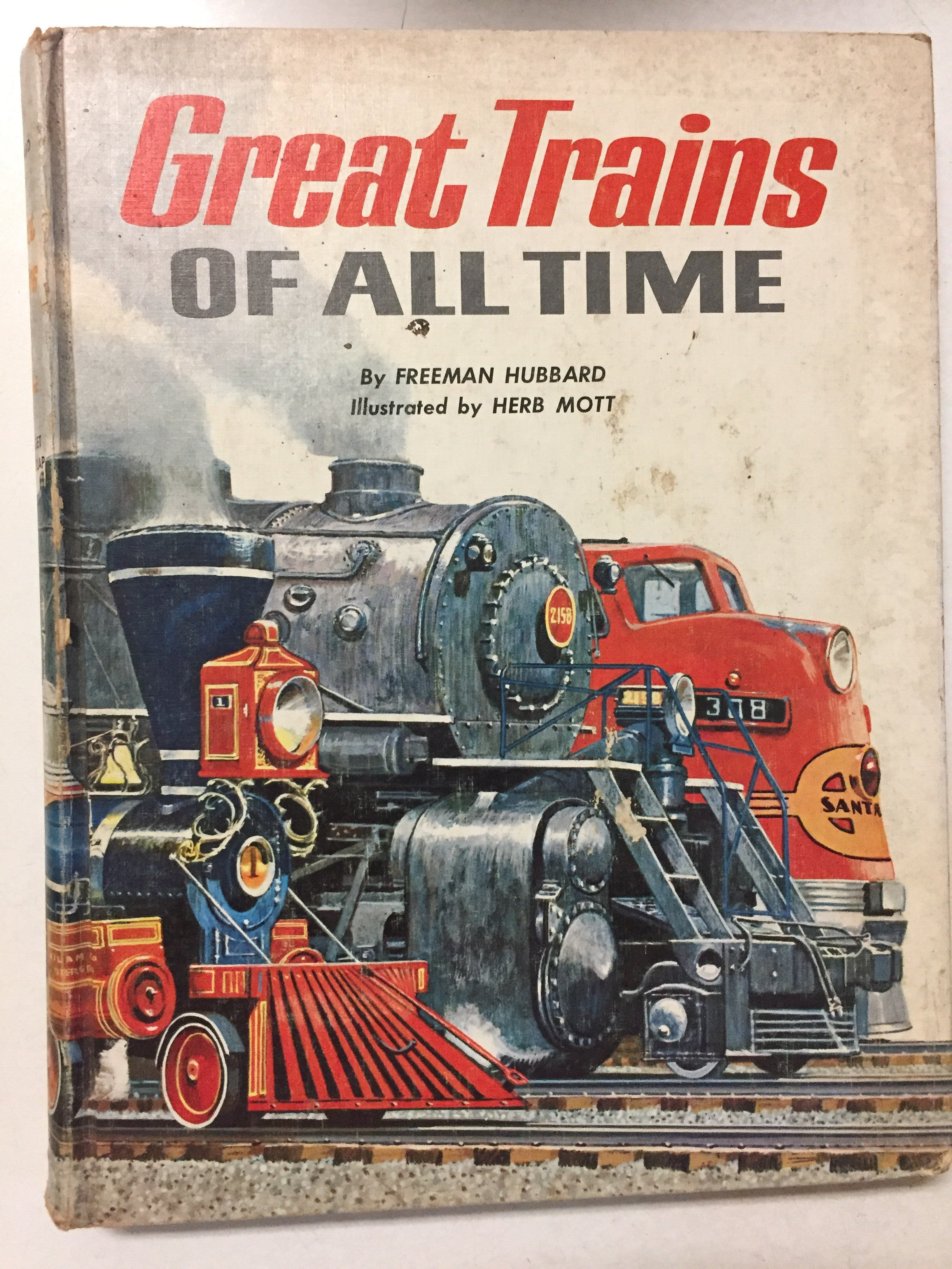 Great Trains of All Time - Slickcatbooks