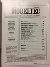 Modeltec February 1985 - Slickcatbooks