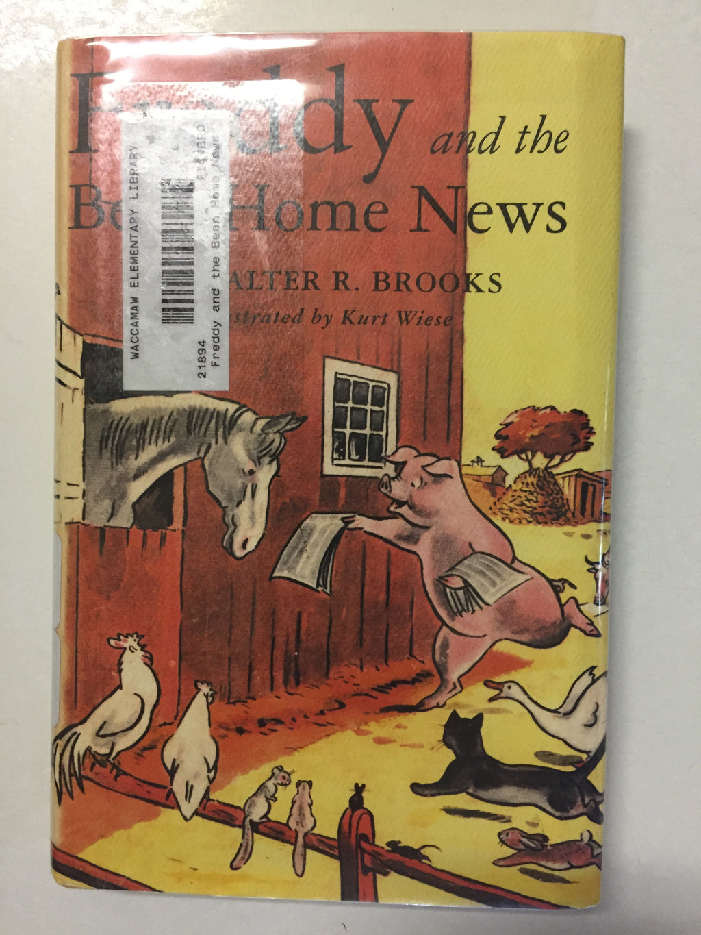 Freddy and the Bean Home News - Slick Cat Books