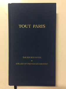 Tout Paris - Slick Cat Books