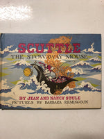 Scuttle the Stowaway Mouse - Slick Cat Books