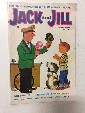 Jack and Jill Magazine July 1962 - Slickcatbooks
