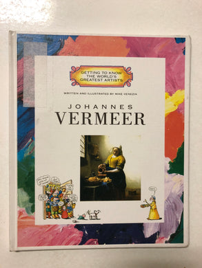 Johannes Vermeer - Slick Cat Books