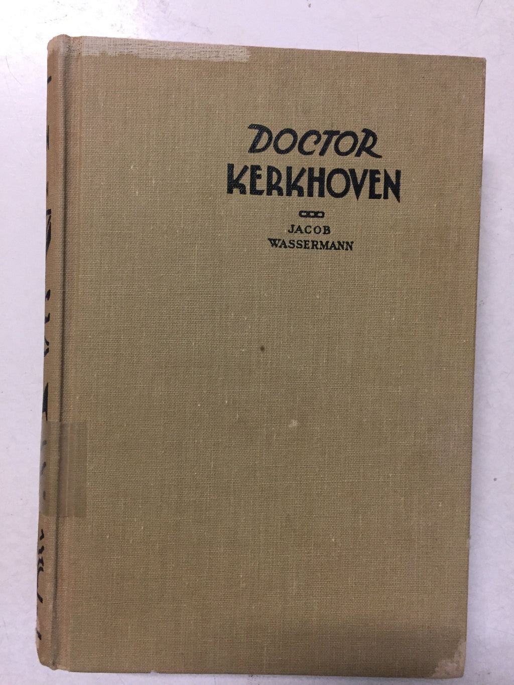 Doktor Kerkhoven - Slick Cat Books