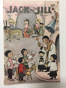 Jack and Jill Magazine April 1947 - Slickcatbooks