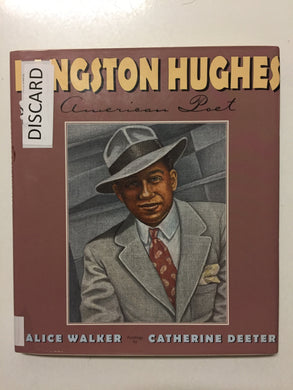 Langston Hughes American Poet - Slick Cat Books