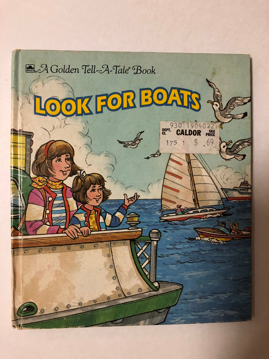 Look For Boats - Slick Cat Books