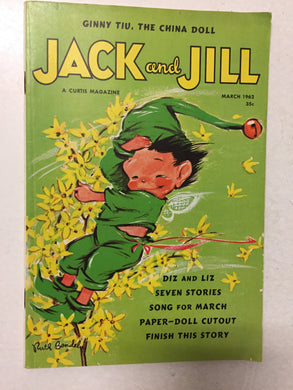 Jack and Jill Magazine March 1962 - Slickcatbooks