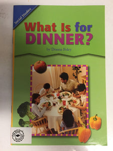 What Is For Dinner - Slickcatbooks