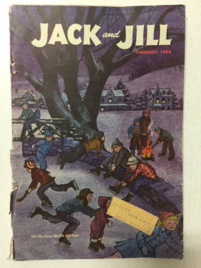 Jack and Jill Magazine February 1952 - Slickcatbooks