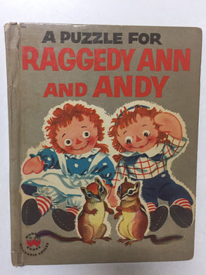 A Puzzle for Raggedy Ann and Andy - Slick Cat Books