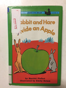 Rabbit and Hare Divide an Apple - Slick Cat Books