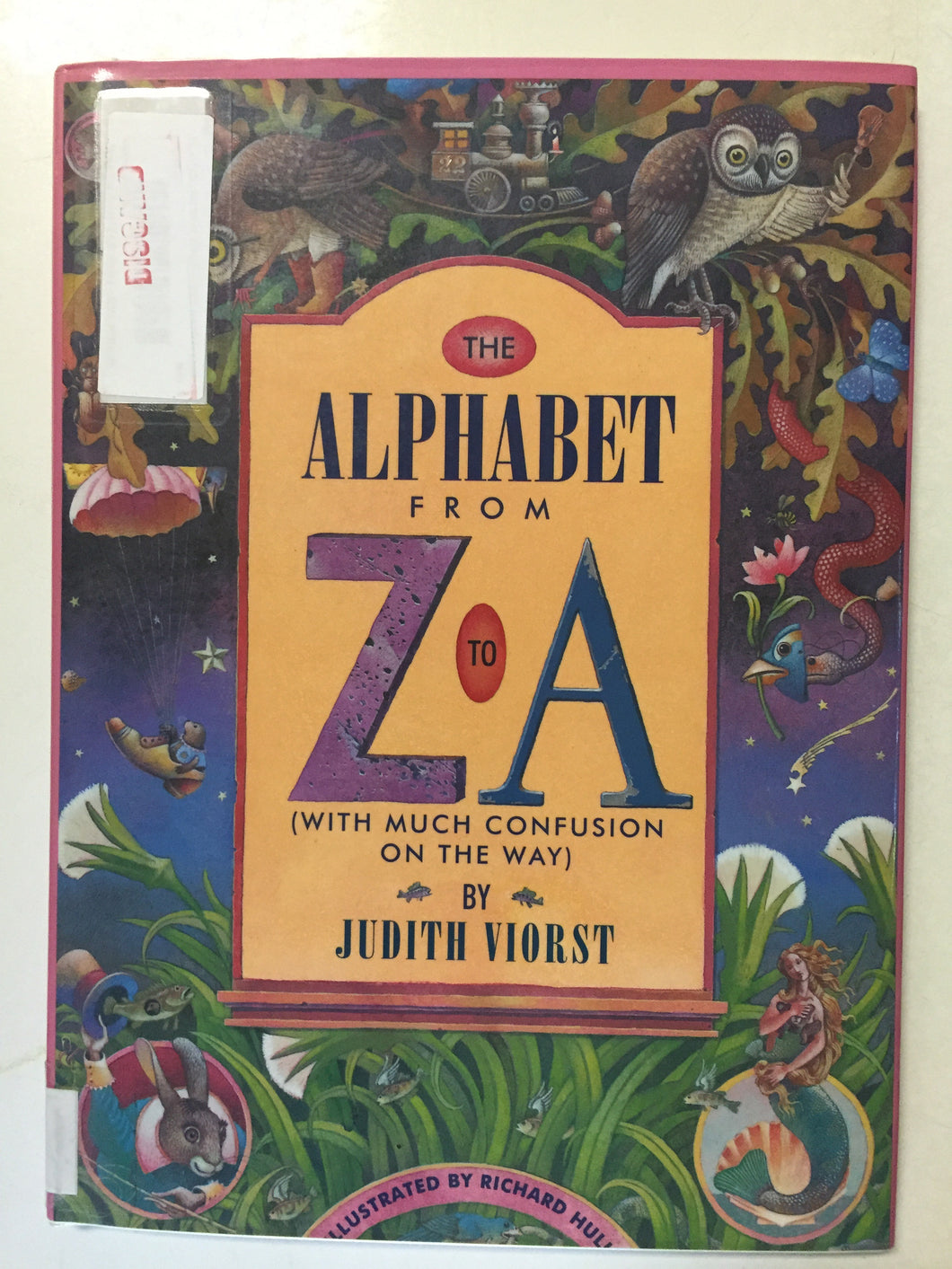 The Alphabet From Z to A With Much Confusion Along the Way - Slick Cat Books