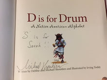 D is for Drum A Native American Alphabet - Slickcatbooks