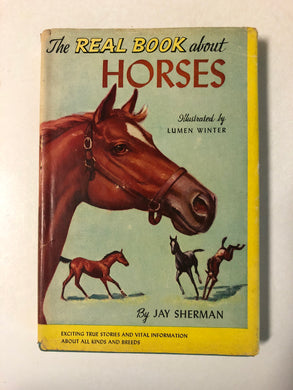 The Real Book About Horses - Slick Cat Books