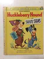 Hanna-Barbera's Huckleberry Hound Safety Signs - Slickcatbooks
