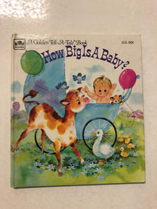 How Big Is A Baby - Slick Cat Books