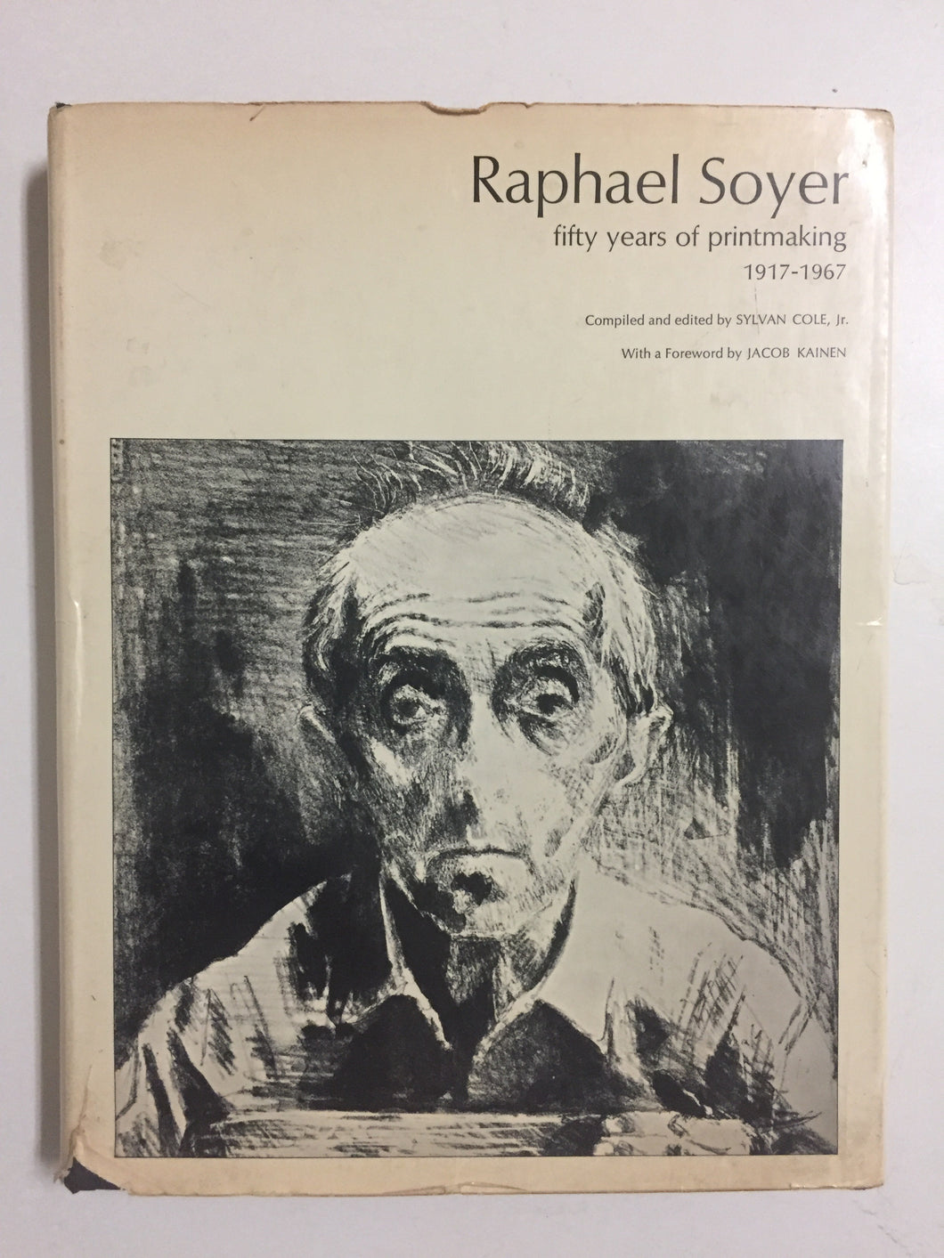 Raphael Soyer Fifty Years Of Printmaking - Slick Cat Books