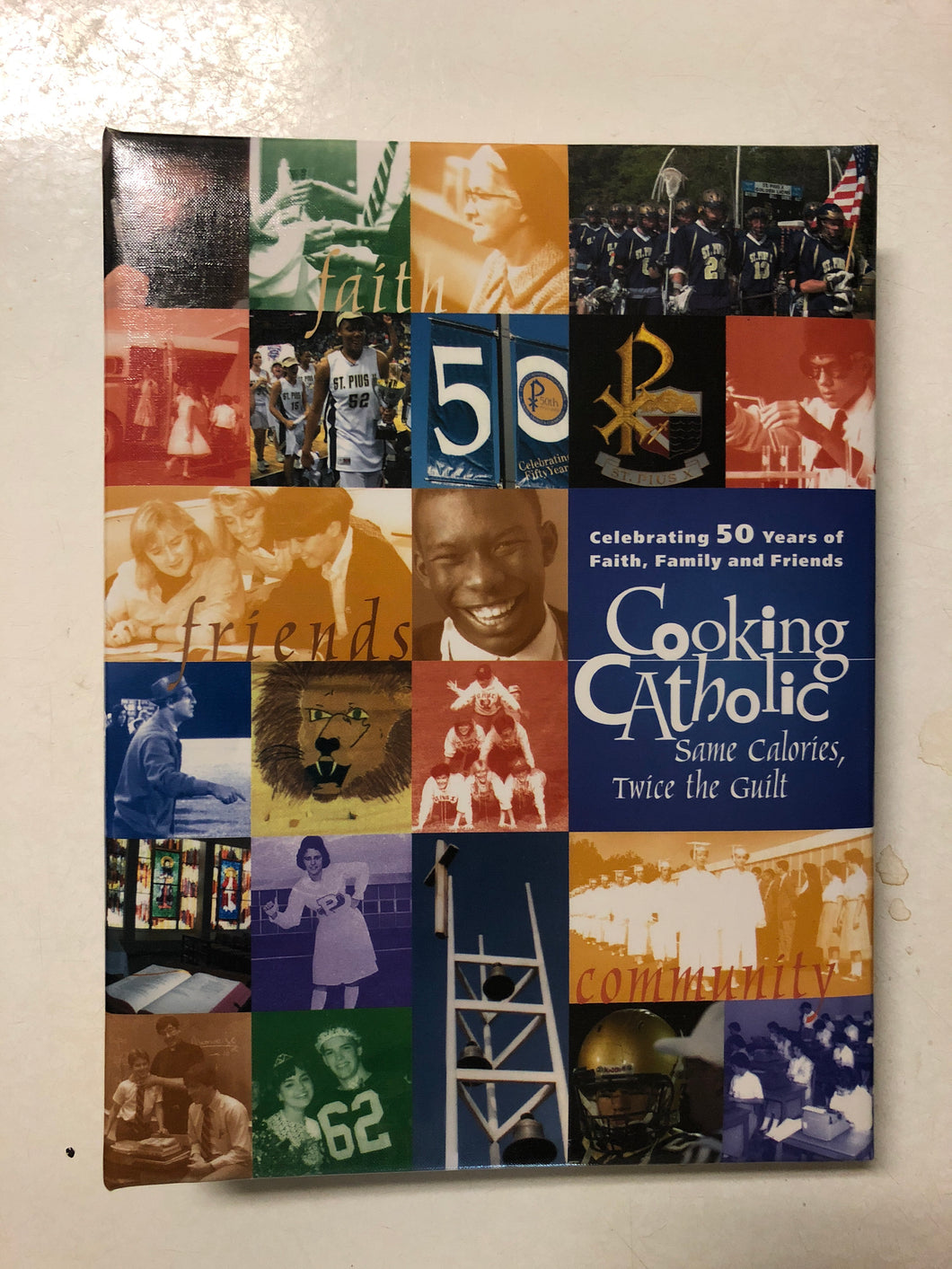 Cooking Catholic Same Calories, Twice the Guilt - Slick Cat Books