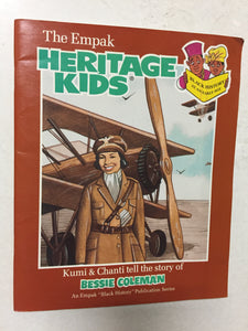 Bessie Coleman The Empak Heritage Kids - Slick Cat Books