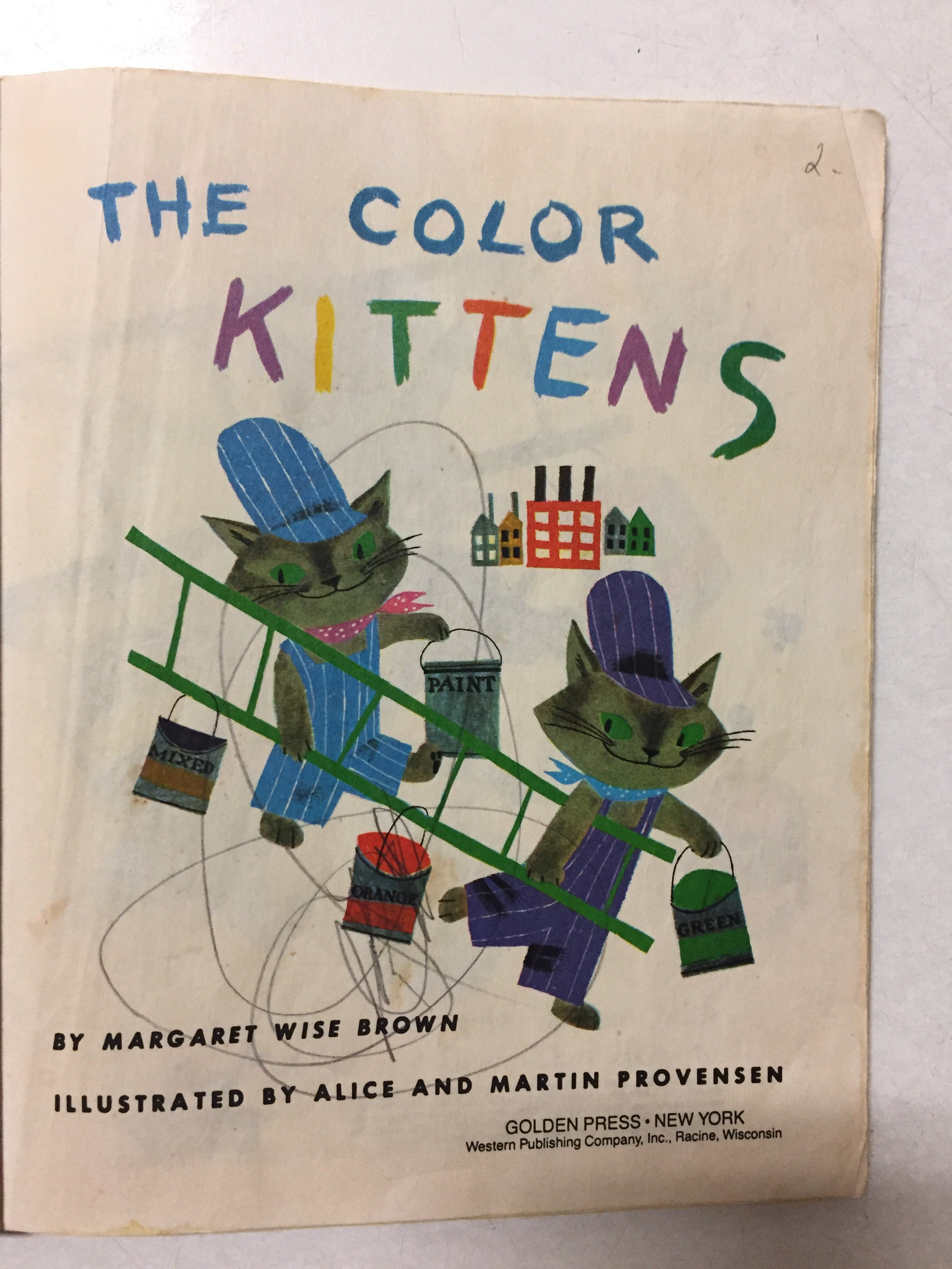 The Color Kittens - Slickcatbooks
