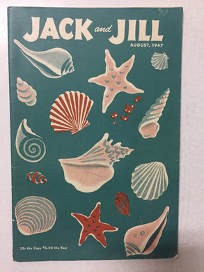 Jack and Jill Magazine August 1947 - Slickcatbooks