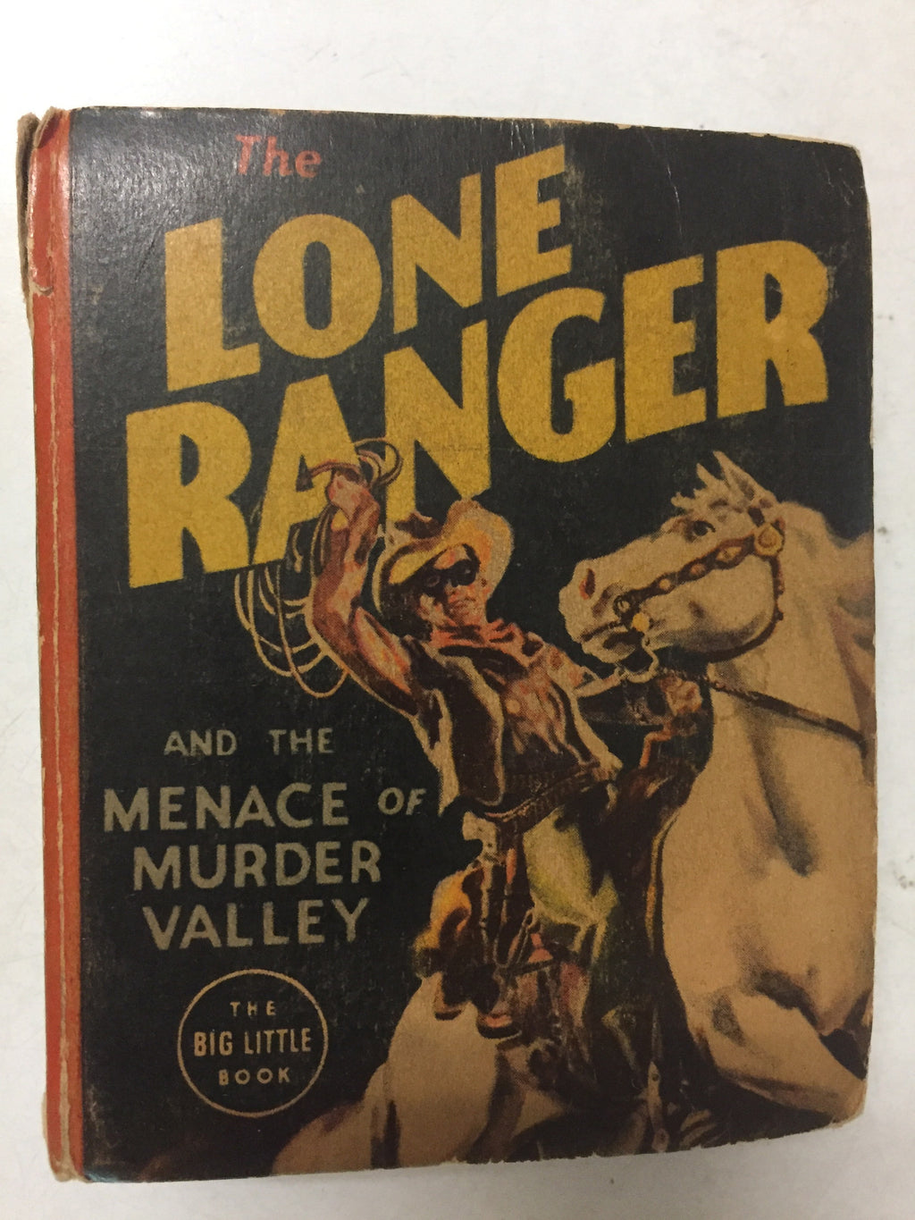 The Lone Ranger and the Menace of Murder Valley - Slickcatbooks