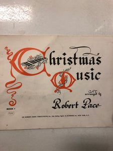 Christmas Music Arranged by Robert Pace - Slick Cat Books