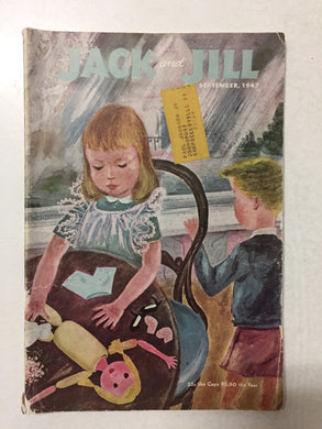 Jack and Jill Magazine September 1947 - Slickcatbooks