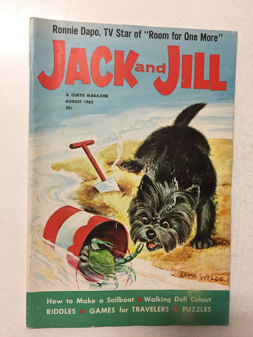 Jack and Jill Magazine August 1962 - Slickcatbooks
