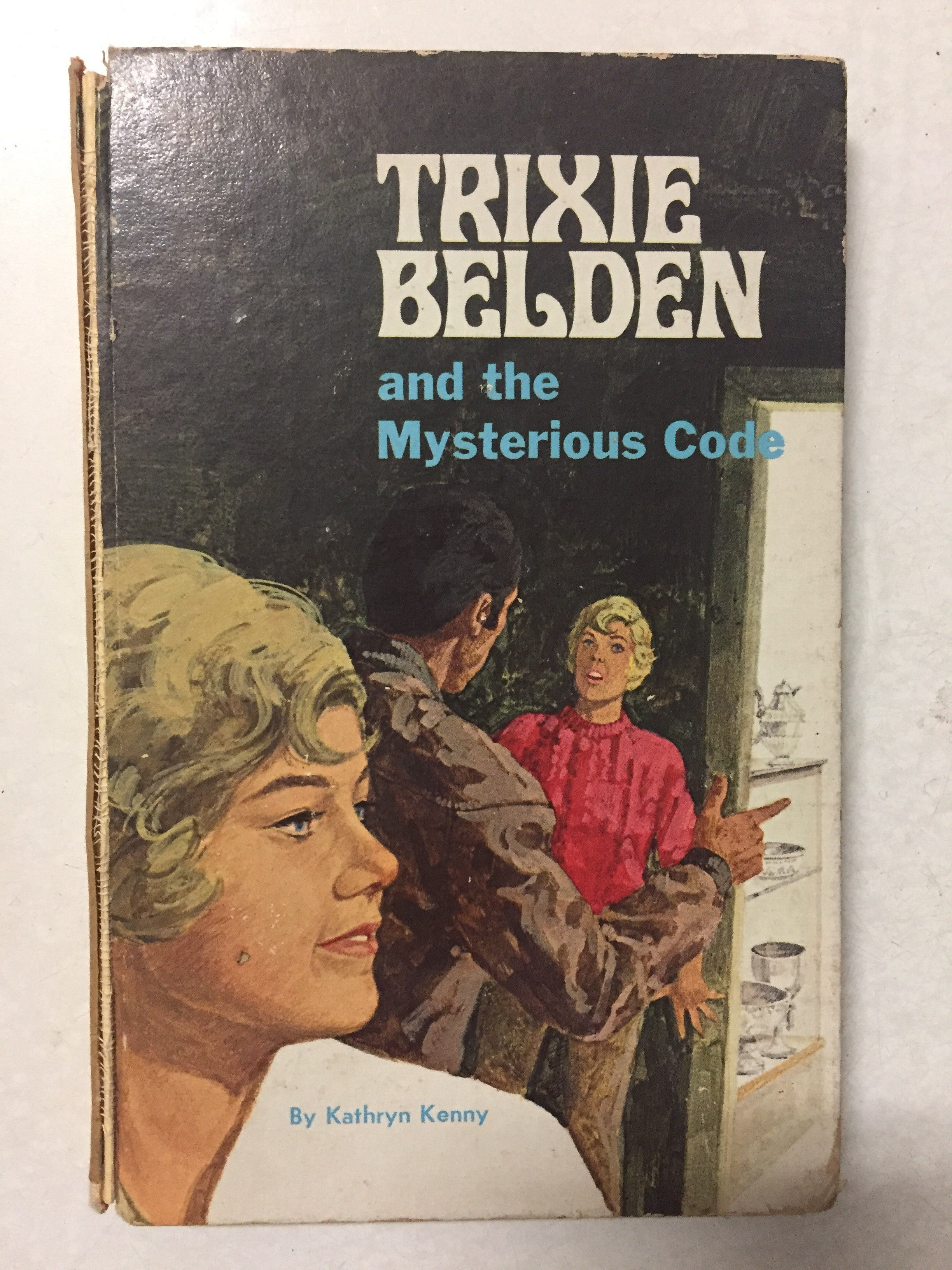 Trixie Belden and the Mysterious Code - Slick Cat Books