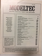 Modeltec May 1984 - Slickcatbooks