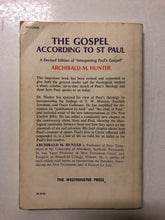 The Gospel According To St Paul