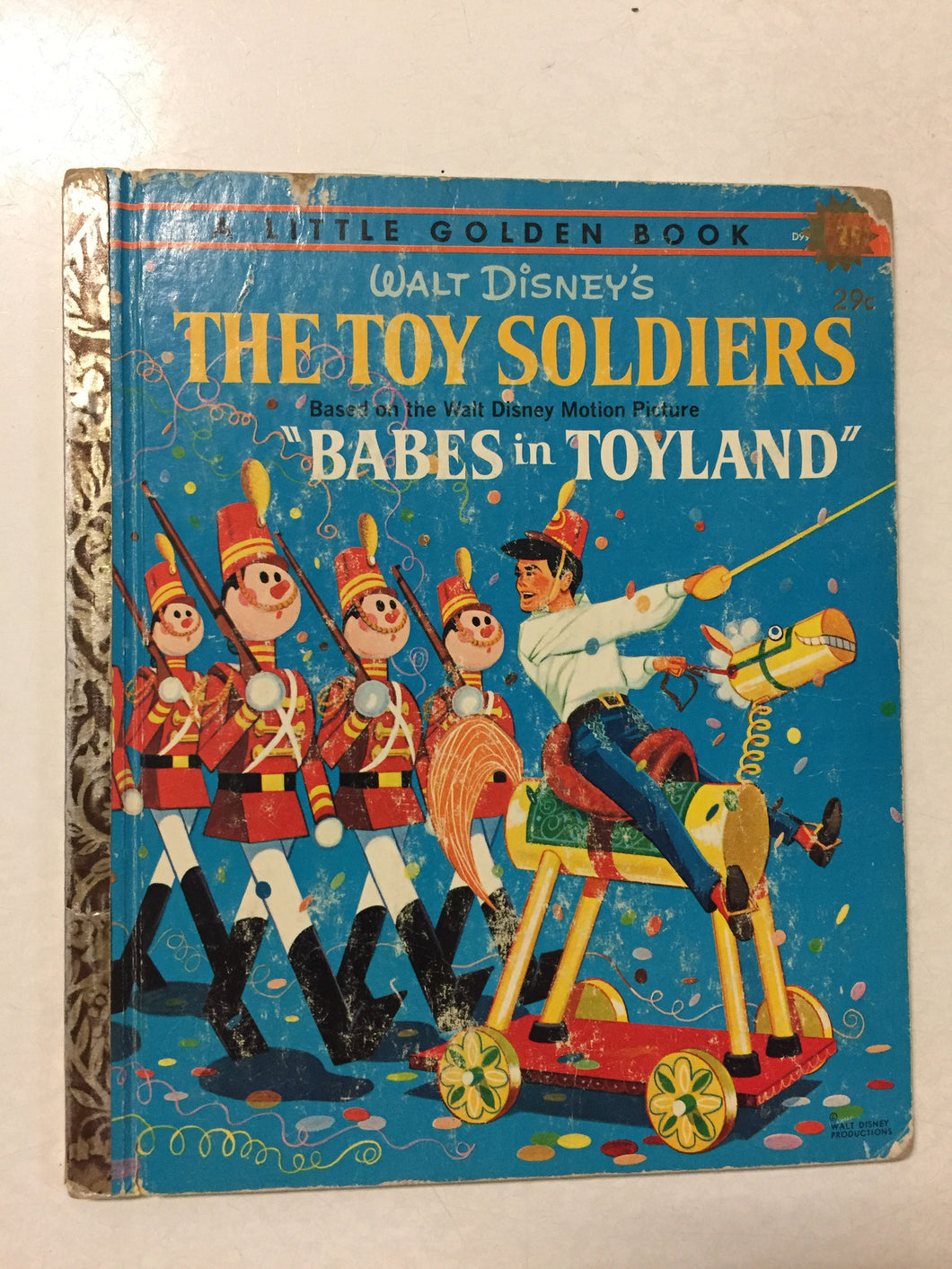 Walt Disney's The Toy Soldiers - Slickcatbooks