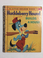 Huckleberry Hound Builds a House - Slick Cat Books