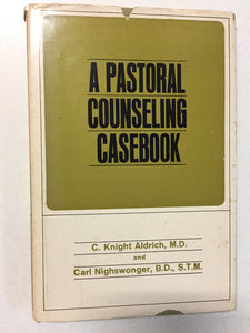 A Pastoral Counseling Case book - Slick Cat Books