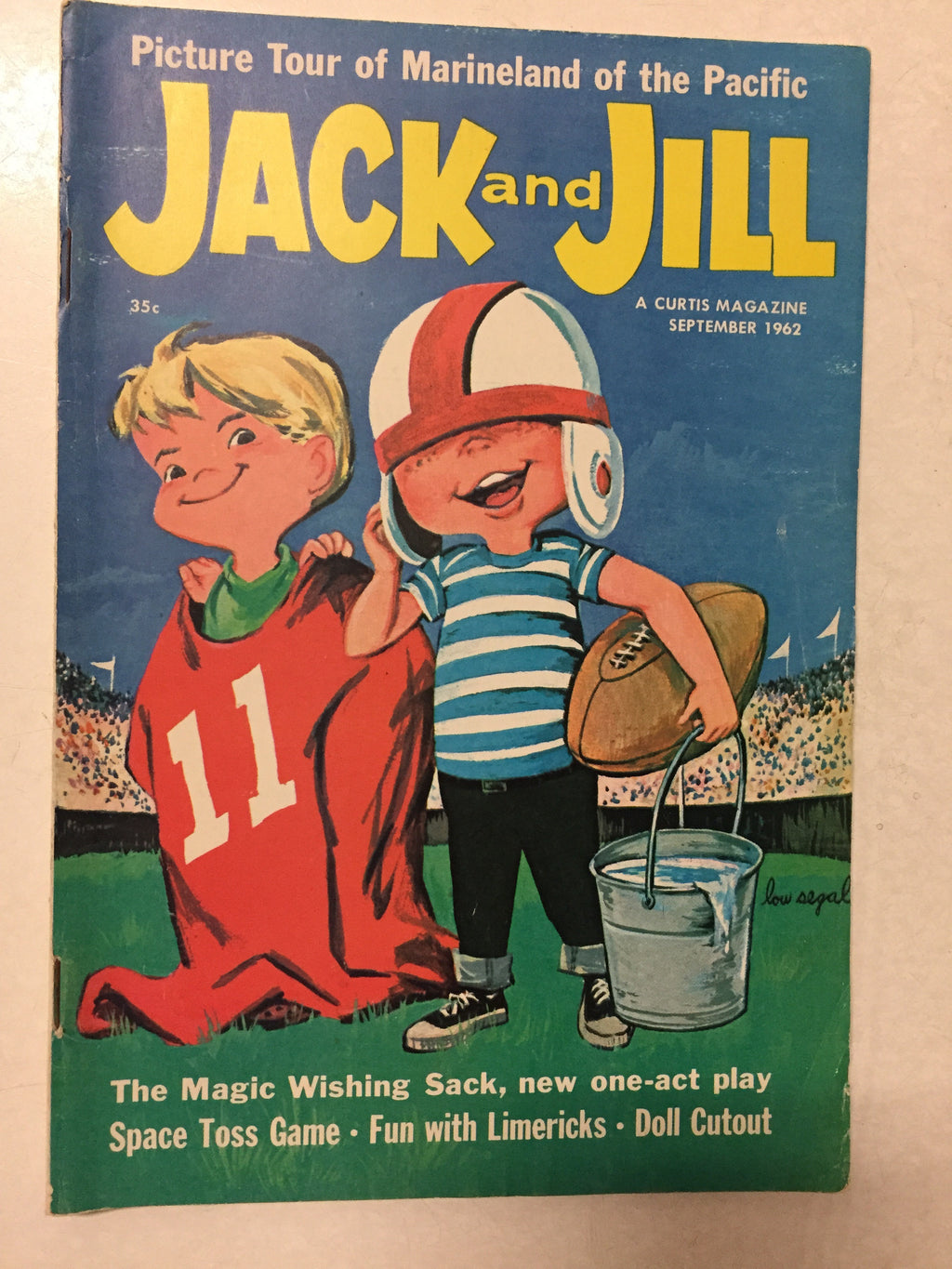 Jack and Jill September 1962 - Slickcatbooks