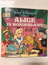 Walt Disney's Story of Alice in Wonderland - Slick Cat Books