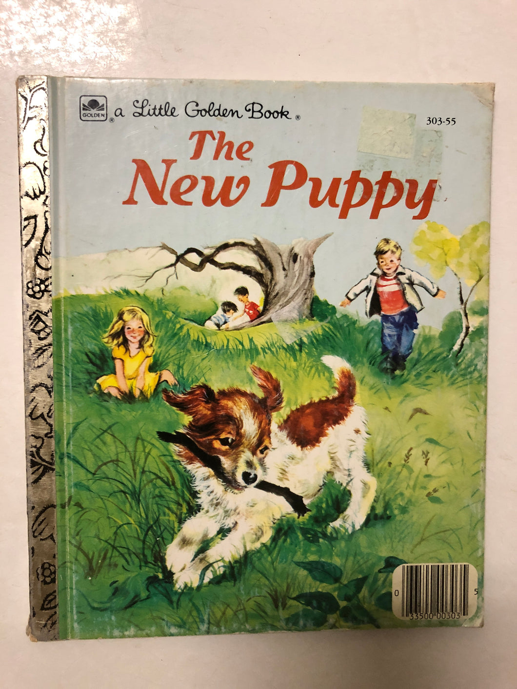 The New Puppy - Slick Cat Books