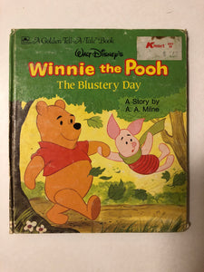 Walt Disney's Winnie the Pooh The Blustery Day - Slick Cat Books