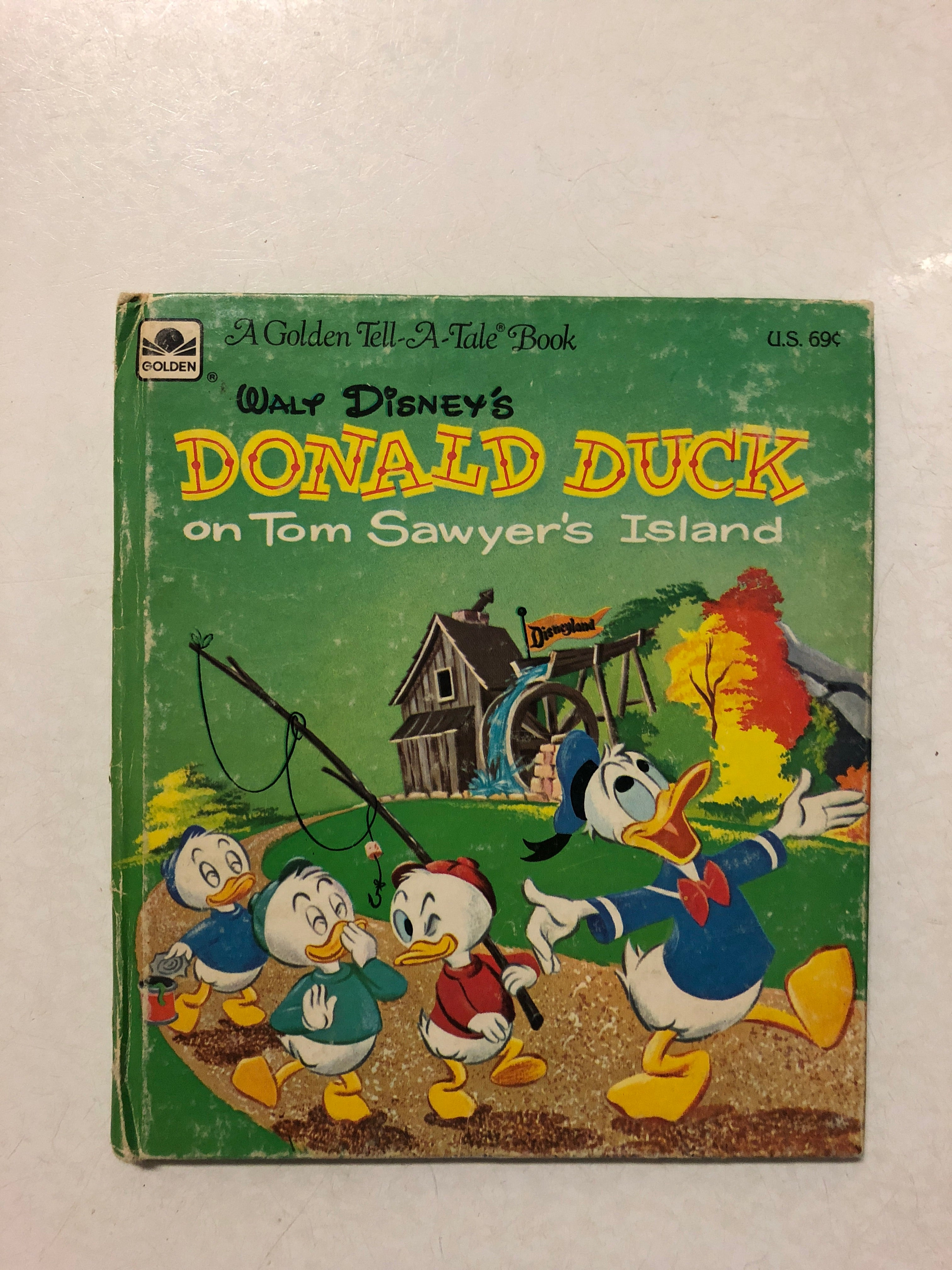 Walt Disney's Donald Duck on Tom Sawyer's Island -Slick Cat Books