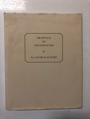 Drawings of Westminster by Sir George Scharf - Slick Cat Books