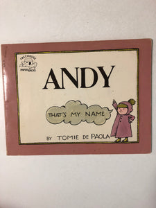 Andy That's My Name - Slick Cat Books