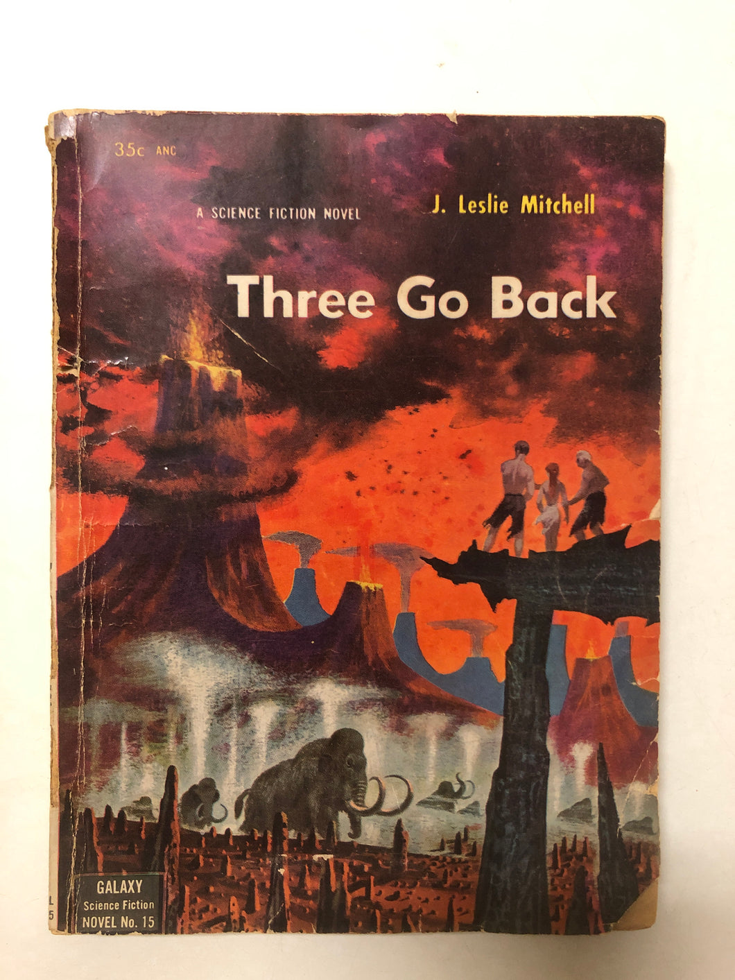 Three Go Back - Slick Cat Books