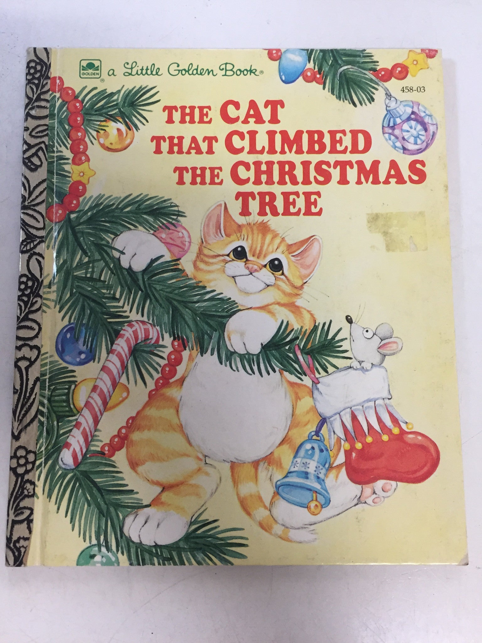 The Cat That Climbed the Christmas Tree - Slickcatbooks