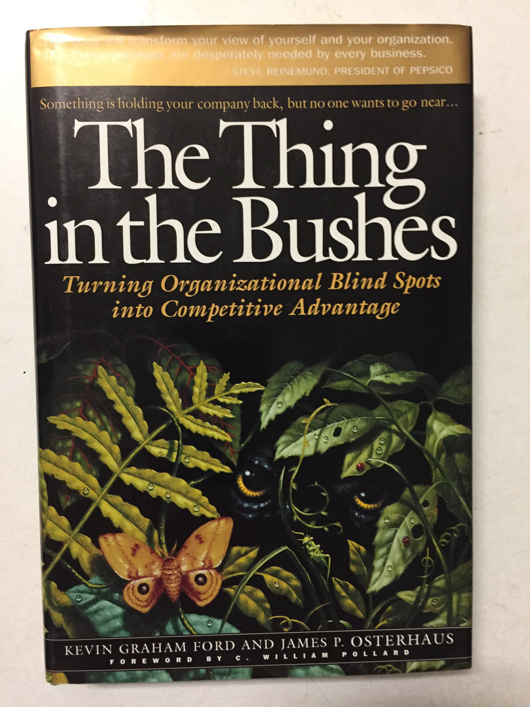 The Thing in the Bushes Turning Organizational Blind Spots into Competitive Advantage - Slickcatbooks