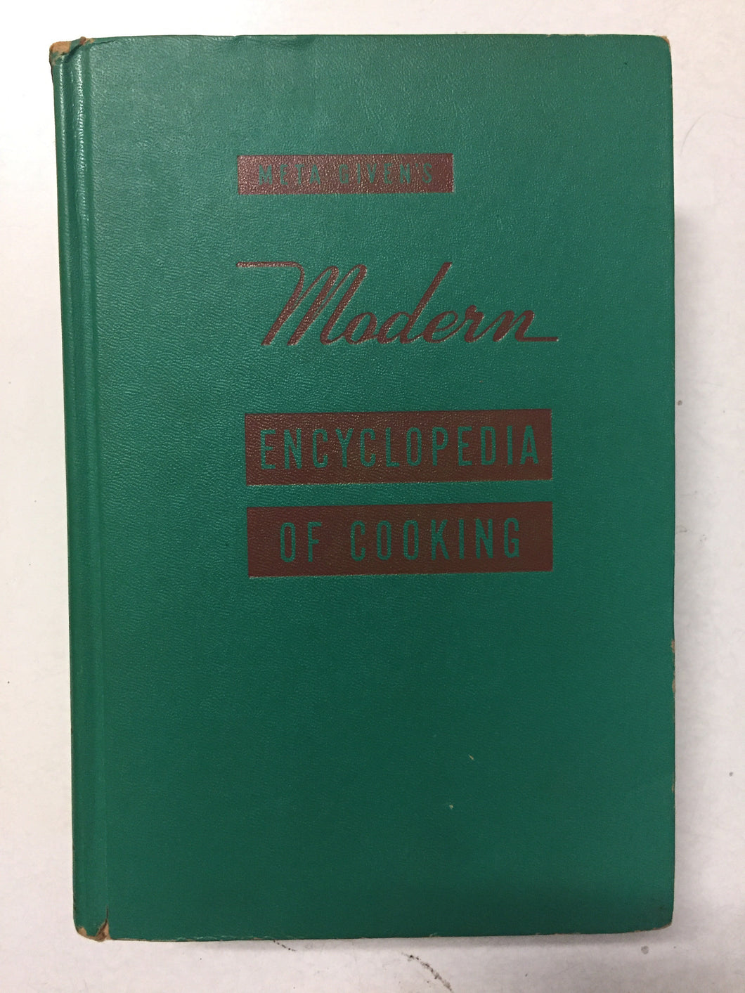 Meta Given's Modern Encyclopedia of Cooking Vol 2 - Slickcatbooks